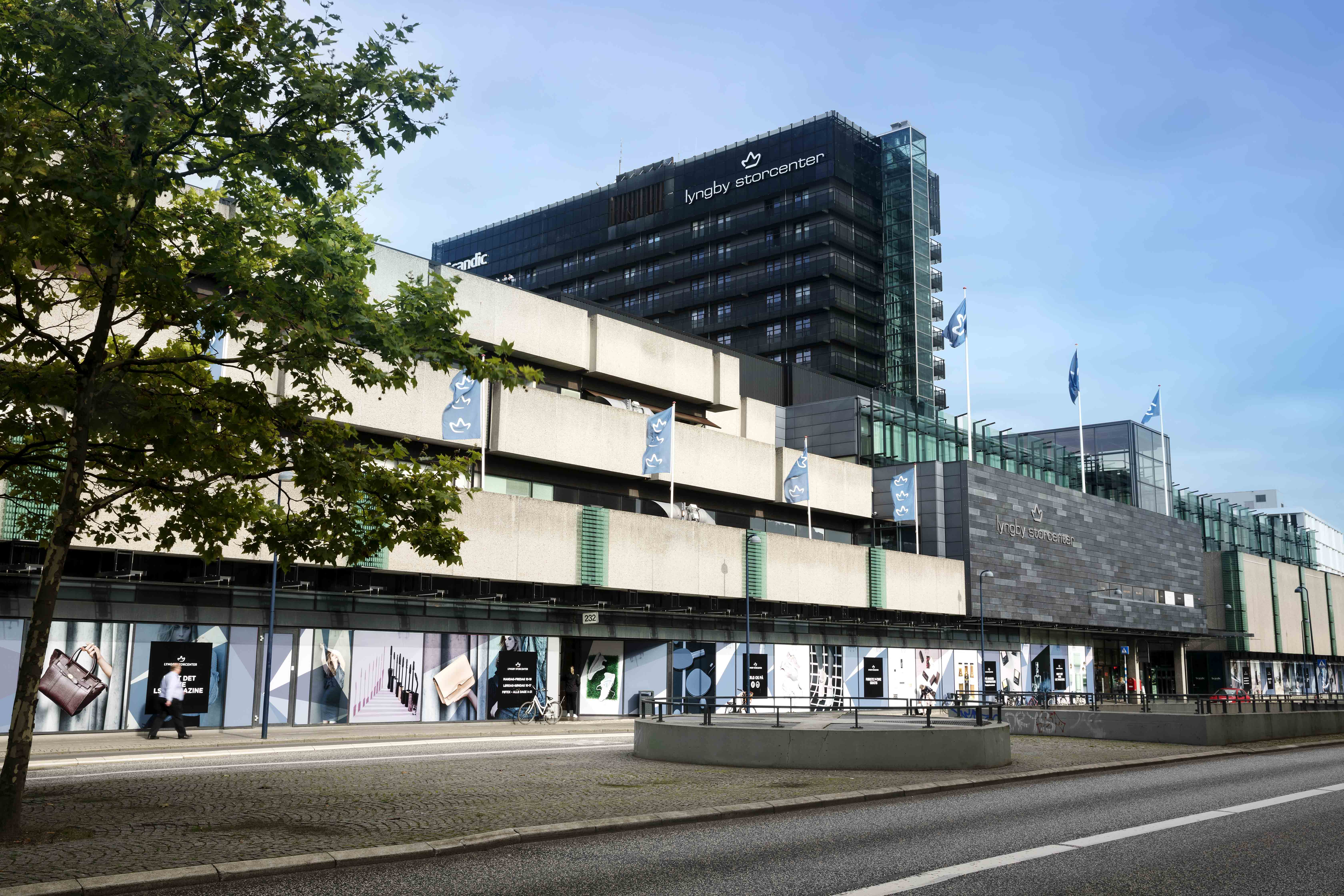 lyngby storcenter parkering